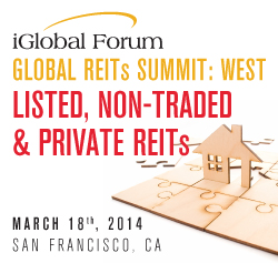 Global REIT Summit West: Listed, Non-Traded & Private REITs
