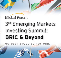 3rd Emerging Markets Investing Summit: BRIC & Beyond
