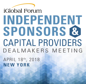 Independent Sponsors & Capital Providers Dealmakers Meeting