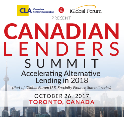 Canadian Lenders Summit: Accelerating Alternative Lending in 2018