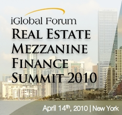 Real Estate Mezzanine Finance Summit 2010