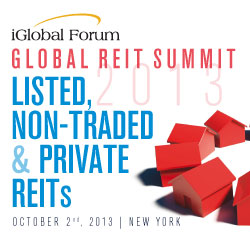 Global REIT Summit 2013: Listed, Non-Traded and Private REITs