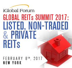 Global REITs Summit 2017: Listed, Non-Traded & Private REITs