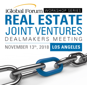 Real Estate Joint Ventures Deal Makers Meeting: Los Angeles
