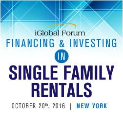 Financing & Investing in Single Family Rentals