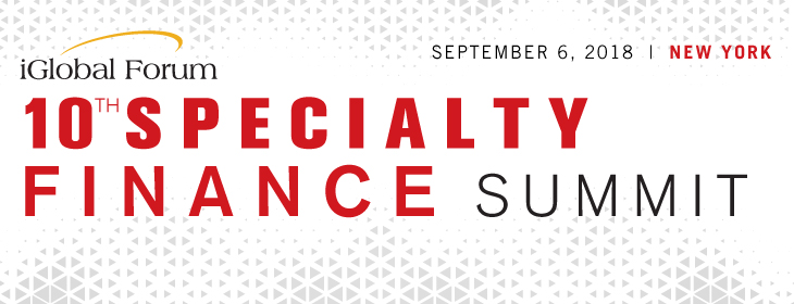 10th Specialty Finance Summit