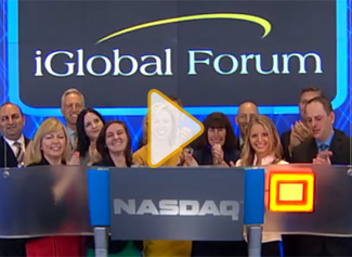 iGlobal Forum at NASDAQ